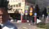 Видео: сотрудник ГИБДД повесил на бампер георгиевскую ленточку