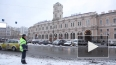 Снегопад в Петербурге: город стоит в пробках из-за ...