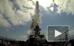 Появилось крутое видео удара кораблей Черноморского флота по террористам в Сирии