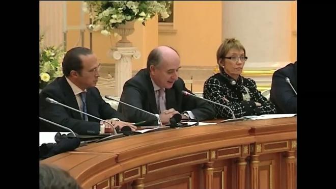 Блокада Дворцовой. Петербург принимает испанского короля Хуана Карлоса