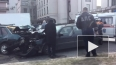 В серьезной аварии на Пироговской набережной пострадали ...