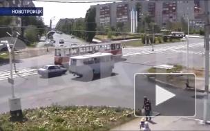 Снёс пешехода в Новотроицке.