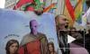 Православные казаки сорвали открытие выставки «икон» под Pussy Riot на Винзаводе