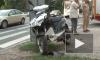 """Около Красного Села опасно столкнулись мотоцикл и тяжелый """"КамАЗ"""""""