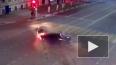 Ужасающее видео из Рязани: после ДТП легковушка сбила ...