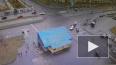 Видео: на пересечение Савушкина и Яхтенной произошло ...
