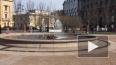 Видео: в Ново-Манежном сквере заработал первый фонтан