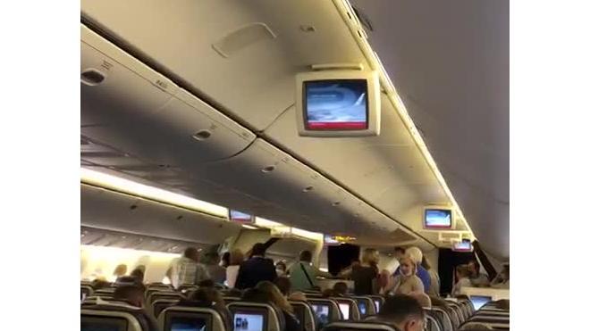 """Рейс """"Петербург-Симферопль"""" задержан из-за кражи в бизнес-классе"""