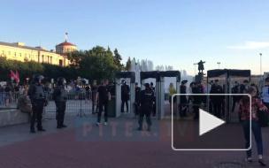 Видео: петербуржцы вышли на митинг против свалки в Шиесе