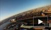 Новое видео не оставило сомнений в прыжке со шпиля Петропавловки в Петербурге