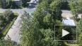 "Видео: В Красном Селе КамАЗ ""уложил"" легковушку"