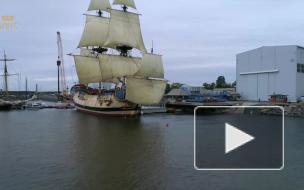 """Экспозиция на корабле """"Полтава"""" с манекенами и сюжетами дополненной реальности готовится к открытию в сентябре"""