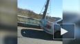 Видео: на съезде с КАД столкнулись пять машин