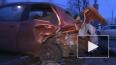 Водитель Nissan погиб на Пулковском шоссе, врезавшись ...