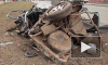 Nissan разорвало надвое на Кушелевской дороге: тяжело пострадали водитель и пассажир, работал эвакуатор