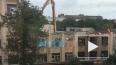 На 20-й линии В.О. сносят здание НИИ алюминиевой промышл...