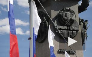 Видео: как центральные улицы Петербурга украсили ко дню города